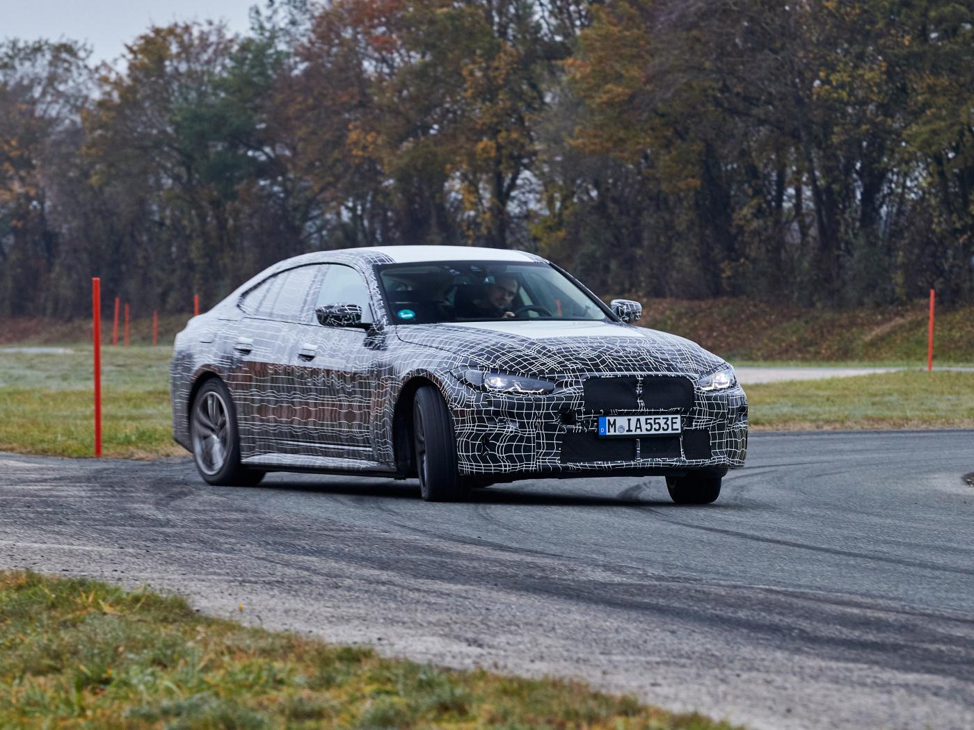 Elektrické BMW i4 dostane 530 koní a stovku zvládne za 4 sekundy