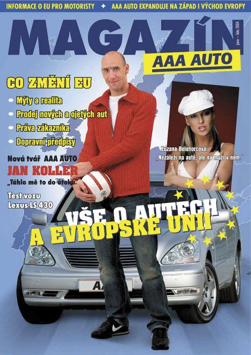Magazín AAA AUTO jako příloha Nedělního Blesku s Janem Kollerem
