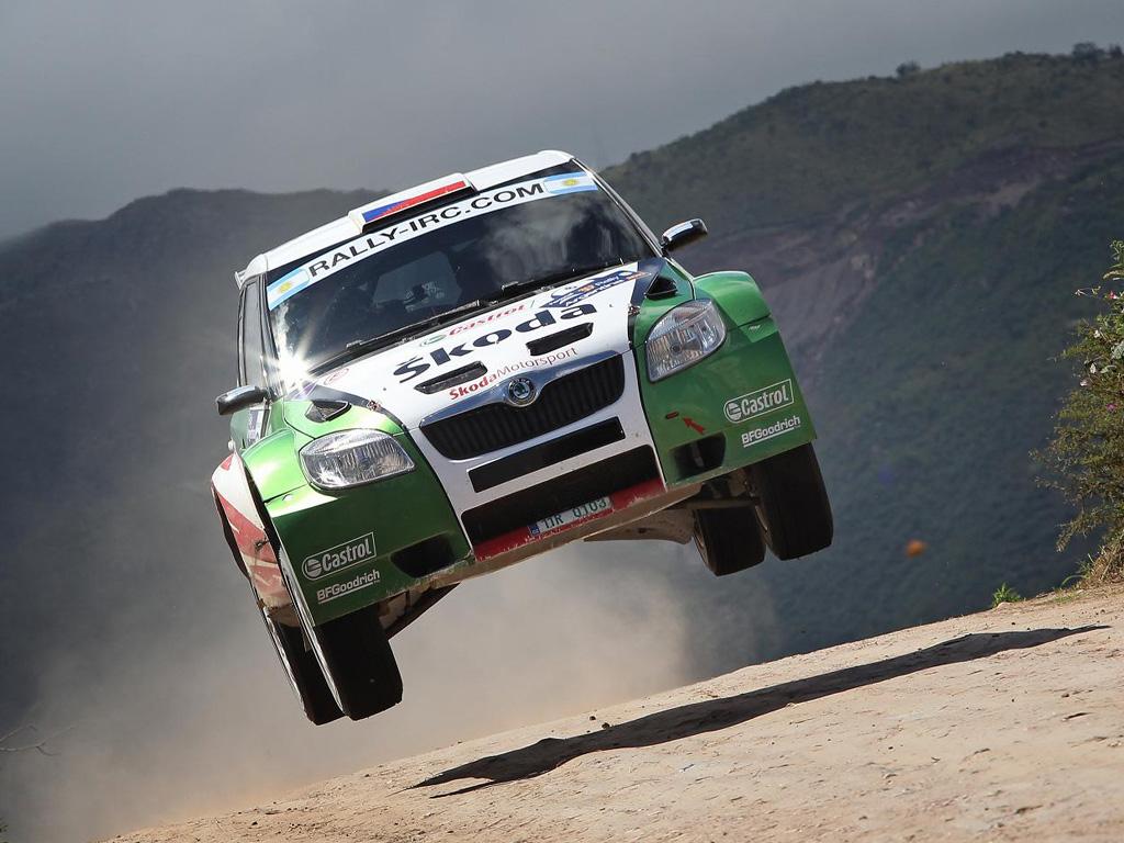 Fantastický úspěch Fabie na Rally Argentina