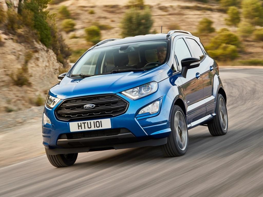 Nové malé SUV od Fordu se jmenuje EcoSport a může mít pohon všech kol