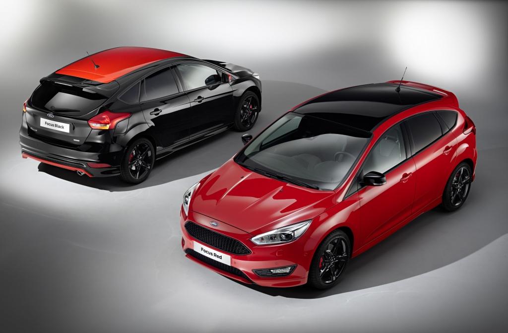 Ford Focus nově v limitované edici Red & Black Edition