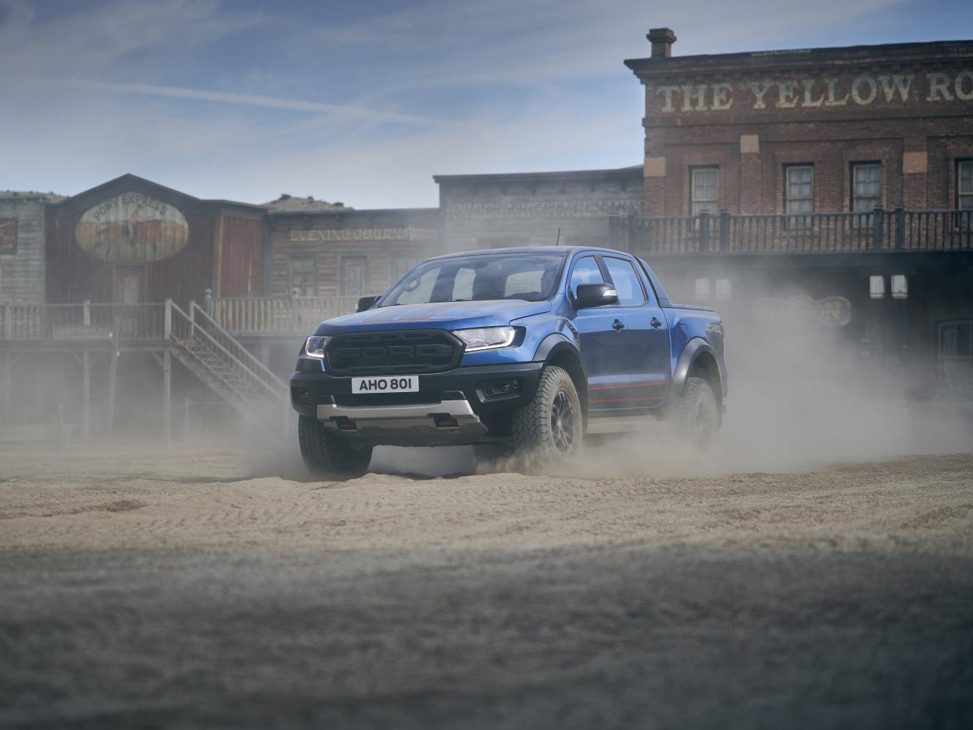 Ford Ranger Raptor přijíždí v limitované sportovní edici
