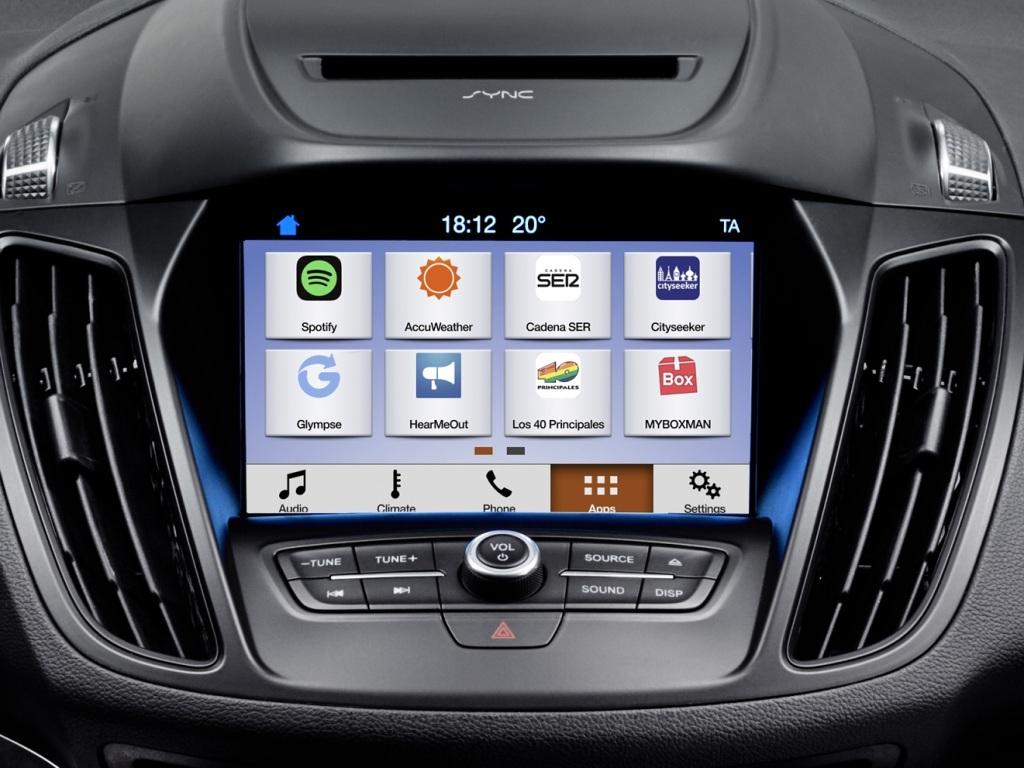 Fordy dostanou SYNC 3 - mraky aplikací a více konektivity