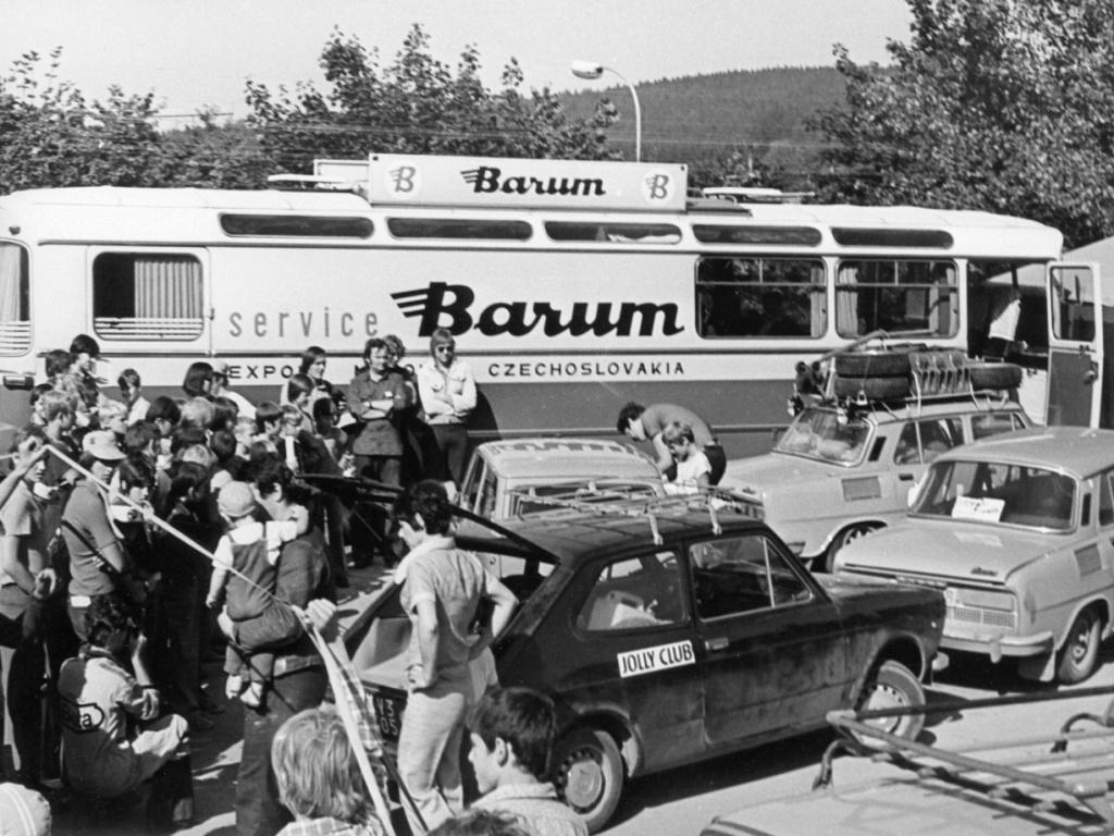 Hledá se pneumatika Barum z roku 1971