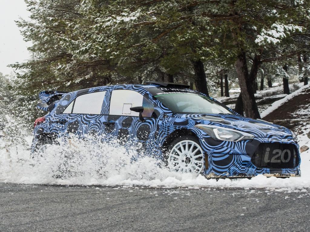 Hyundai i20 WRC se představí příští rok v Monte-Carlu