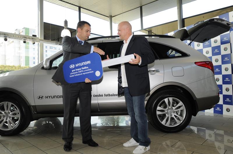 Hyundai ix55 pro trenéra Haška