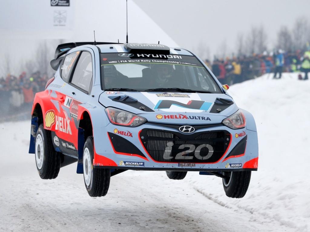 Hyundai nasadí ve Švédské rallye tři vozy