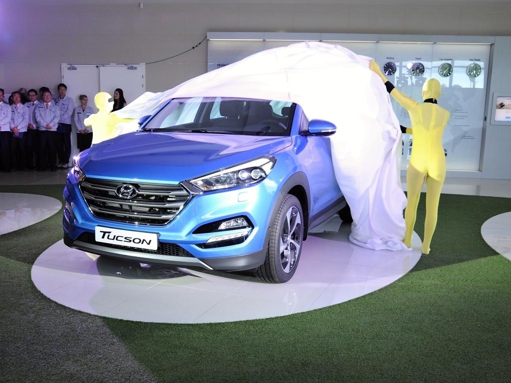 Hyundai Tucson představen veřejnosti, v prodeji od září