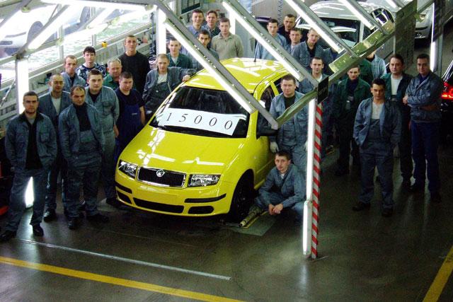 Eurocar vyrobil svůj jubilejní automobil