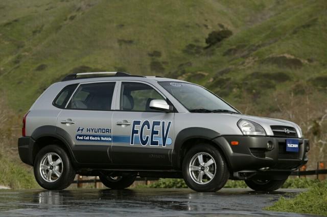 SUV Tucson poháněný vodíkem