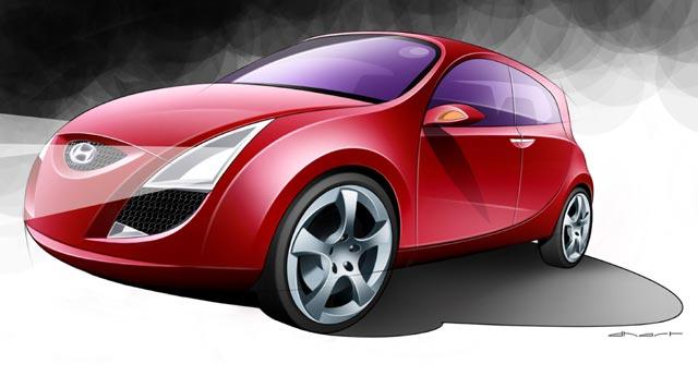 Hyundai XG a studie HED-1