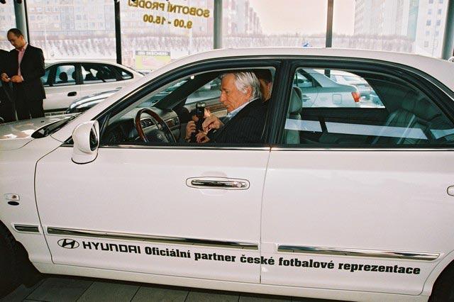 Hyundai Motor CZ – oficiální partner české fotbalové reprezentace