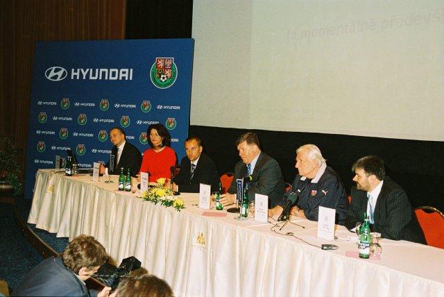 Hyundai a fotbal v České republice