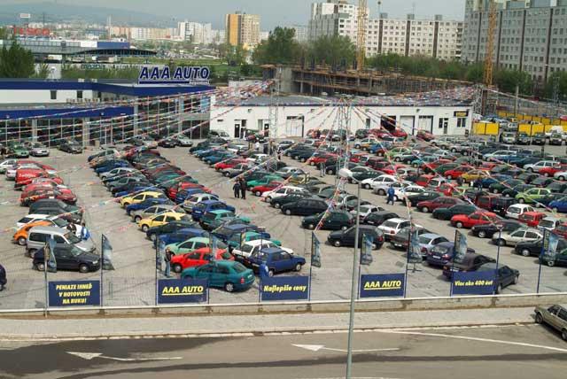 AAA AUTO největším bazarem už i na Slovensku