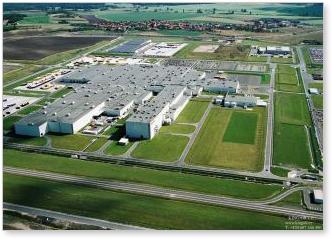 Oficiální otevření automobilky TPCA v Kolíně v České republice