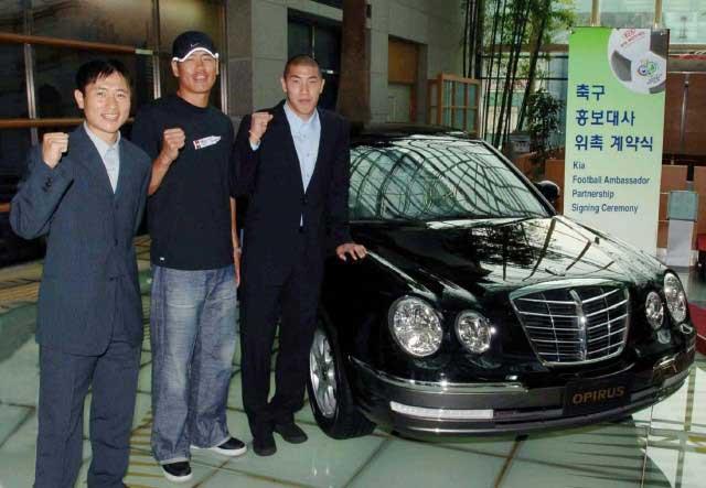 Kia sponzoruje korejské fotbalisty