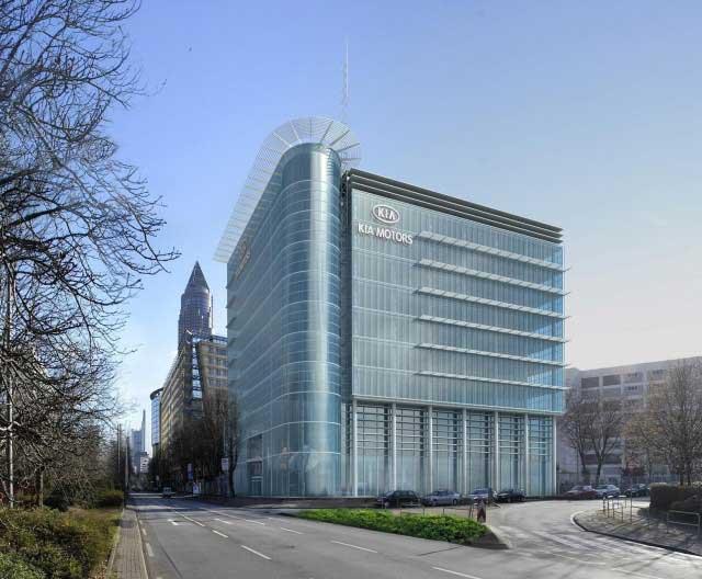 Nové evropské design centrum Kia