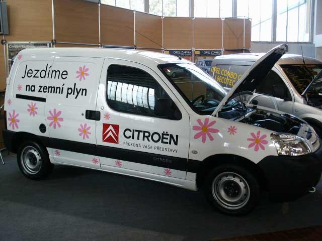 Novinka Citroënu: Berlingo na zemní plyn také na českém trhu