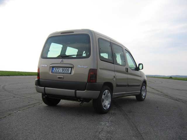Bezbariérový Citroën Berlingo pro dopravu tělesně postižených osob