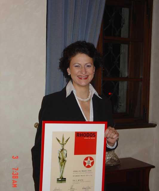 Hyundai  získal cenu za image RHODOS