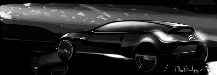 Auto (virtuální) pro rok 2054 - Představy designérů Citroën o budoucnosti hodně vzdálené