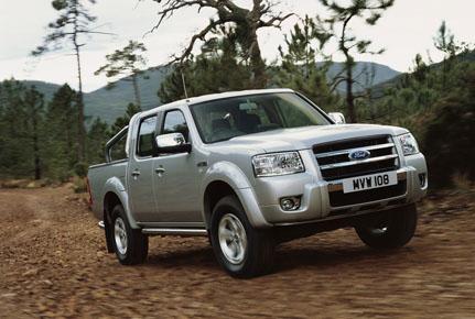 Zcela nový Ford Ranger míří hodně vysoko