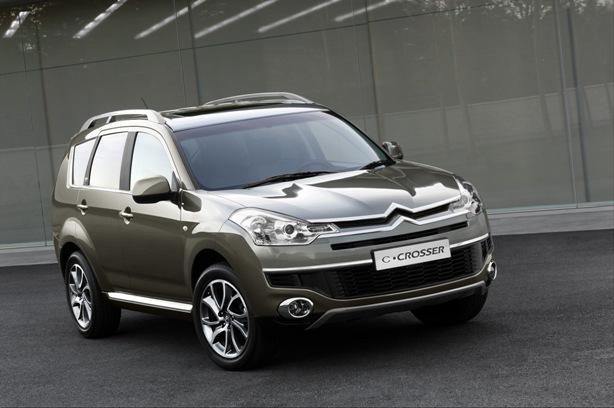 Citroën C-Crosser - Pro milovníky dobrodružství
