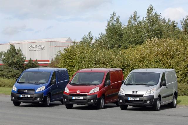 PSA Peugeot Citroën a Fiat  představují nové kompaktní furgony