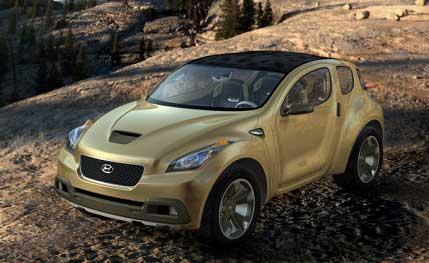 Kompaktní studie HCD10 Hyundai Hellion byla představena na autosalonu v Los Angeles