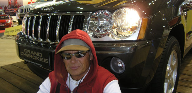 Jiří Korn - jezdí výhradně vozy Chrysler a Jeep