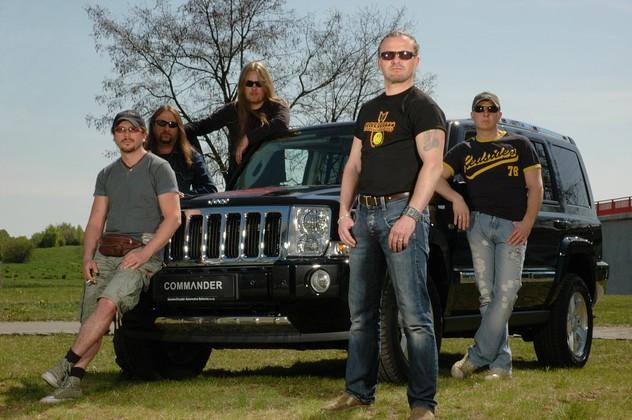 Koncertní turné Corrida 2007 skupiny Kabát bude podporovat Jeep