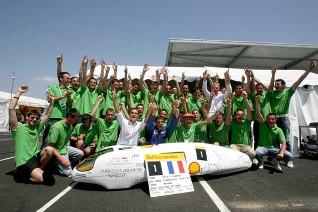 Evropský Shell Eco-marathon 2007 – 3 039 kilometrů na jeden litr paliva