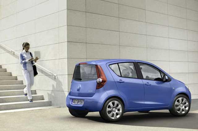 Flexibilita pro město: Opel Agila nové generace