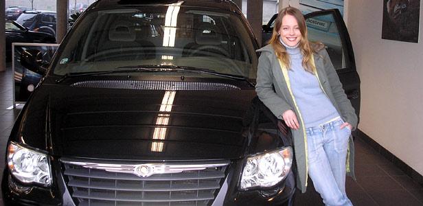 Linda Rybová - věrná značce Chrysler