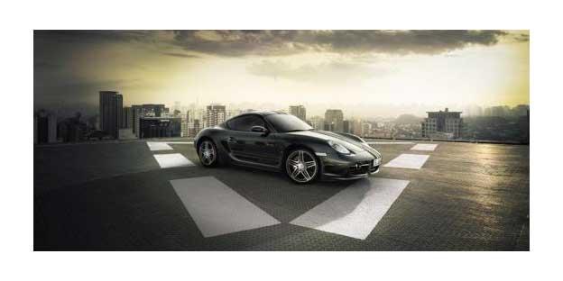 Limitovaný Porsche Cayman S