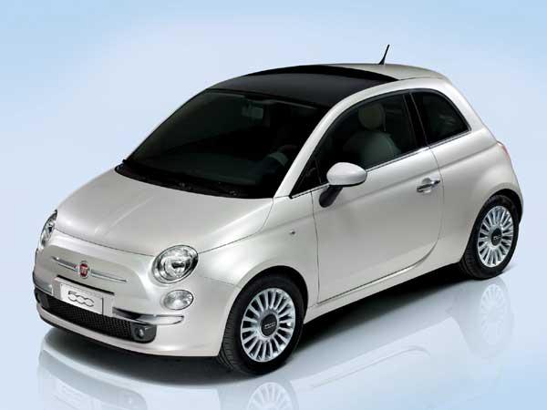 Fiat 500 slaví