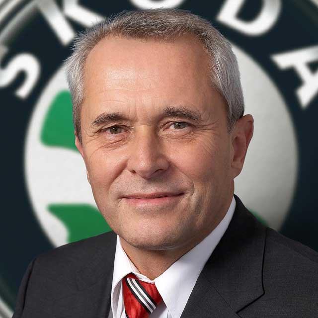 Reinhard Jung v čele Škoda Auto