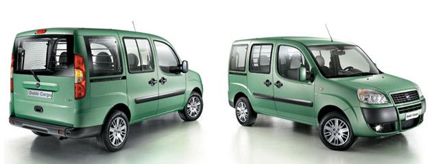 Nová verze Dobla Cargo Combi - Maxi