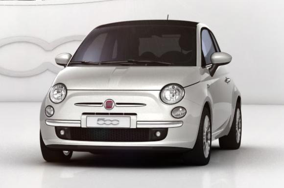 Evropským autem roku 2008 je Fiat 500