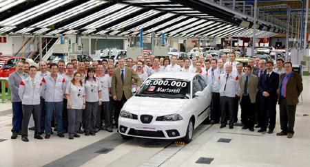 Z Martorellu vyjelo už šest milionů aut