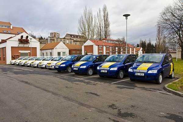 Prvn� p�j�ovna vozidel poh�n�n�ch stla�en�m zemn�m plynem (CNG) v �esk� republice