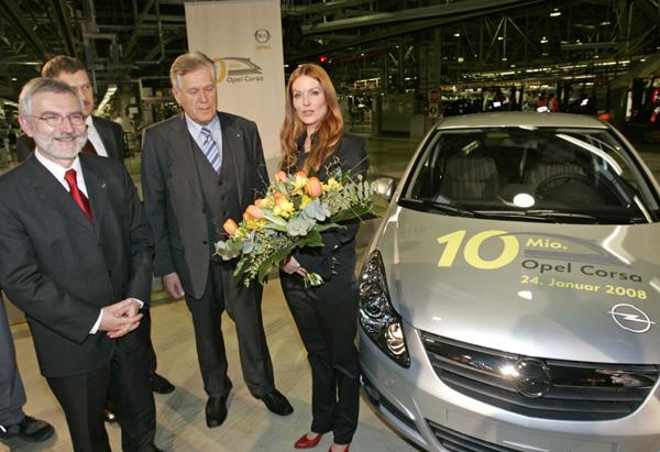 Desetimiliontá Opel Corsa