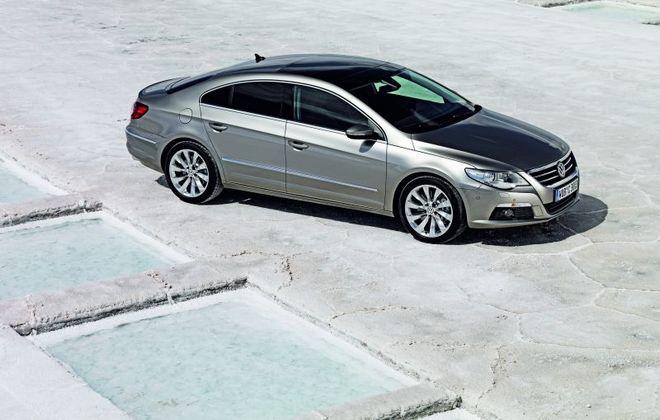 Nový Volkswagen Passat CC ve světové premiéře