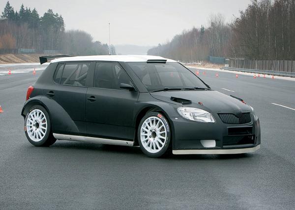 Škoda Auto zahájila testování vozu Fabia Super 2000