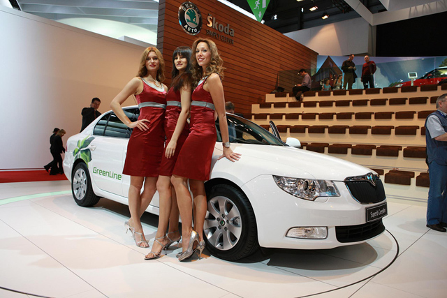 Škoda Auto na Autosalonu v Ženevě
