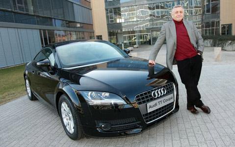 Ji�� Menzel se rozhodl pro Audi TT