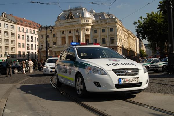 Kia ve výběrovém řízení na vozy pro policii ČR