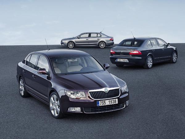 Pět hvězdiček Euro-NCAP pro nový Superb