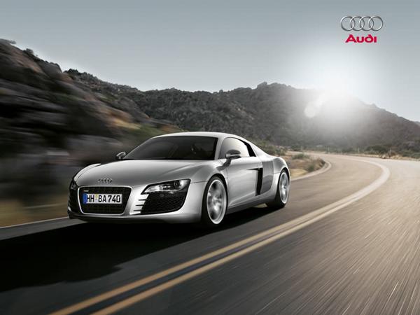 Audi R8 - precizní světelná technika