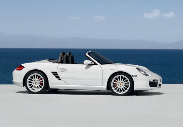 Porsche - limitovaná série vozů s motorem uprostřed